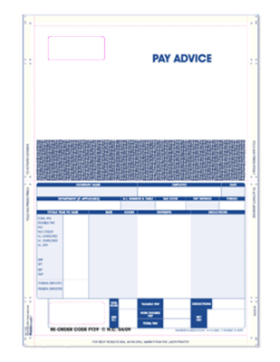 Self-Seal Laser Payslip Mailer