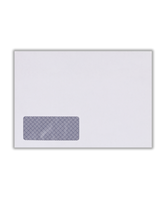 White Tape Seal Wage Envelope