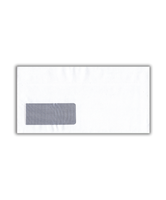 White Self-Seal Window Envelope